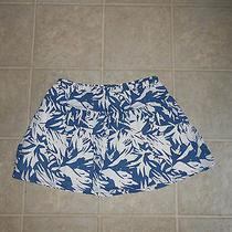 Cute Blue/white Cute Pattern Flare Mini Skirt sz.xs..aeropoatale Photo
