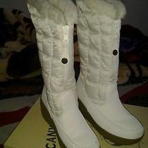 Cute Canyon River Blues White Lolly Boots Size 9 Photo