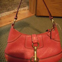 Cute Coach Hobo Purse in Pink Photo