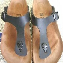 Cute & Comfortable Birkenstock Women's Gizeh Sandals-Size 10/10.5-41-Euc Photo