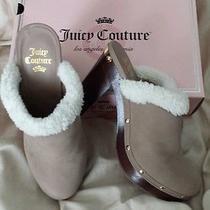 Cute Cute Juicy Couture Mule Clogs Size 8.5 Photo