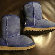 Cute Cute Tiny Ugg Boots Boy/girl Size 7tdark Blueso Warmsee Photos Photo