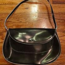 Cute Dkny Navy Leather Purse Photo
