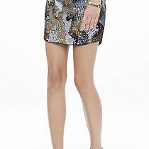 Cute Express Camo Sequin Skirt Nwt Xs/tp  Photo