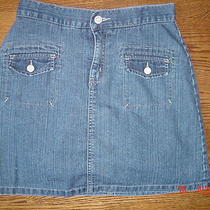 Cute Gap Girls Jean Skirt Size 12 Photo