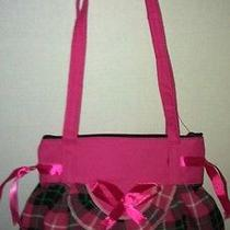 Cute Hobo Purse Plaid Skirt With a Cute Bow in Front Photo