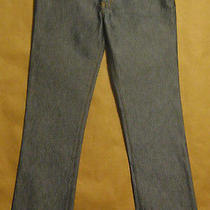 Cute Juniors Size 5 Baby Phat Shiny Low Rise Boot Cut Jeans Cotton Blend Photo