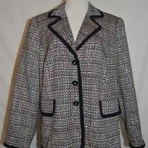 Cute Lane Bryant Acrylic Blazer Jacket Size 20 Photo