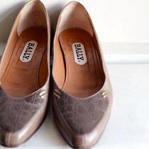 Cute Leather Bally Flats Photo
