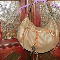 Cute Leather Lucky Brand Handbag With Cute Decorations Photo