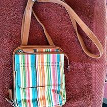 Cute Little Fossil Over the Shoulder Bag....fun Stripes Photo