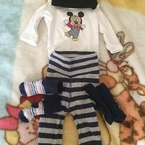 Cute Mickey Mouse Outfit 1-2 Months h&m Photo