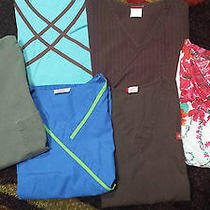 Cute Mixed Lot Womens Medium Scrub Tops Urbane Dickies Landau Others Photo