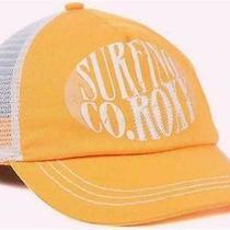 Cute New Licensed Roxy Surf Co Mesh Back Trucker Fashion Hat Yel Adjustable B15 Photo