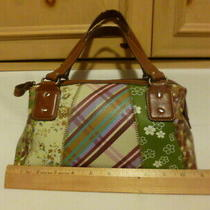 Cute Older Relic Womens Purse Hobo Patchwork Styledivided w/zipper&open Pockets Photo