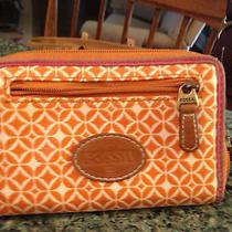 Cute Orange Fossil Wallet Photo