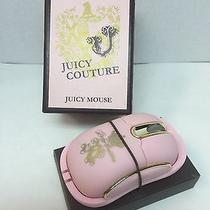 Cute Pink Juicy Couture Wireless Computer Mouse in Box - Works Excellent Photo
