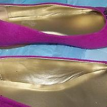 Cute Rhinestone Pink Suede Flats by Mossimo Size 6 Totally Cute  Photo