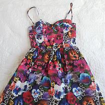 Cute Topshop Skull Pansy Dress Photo