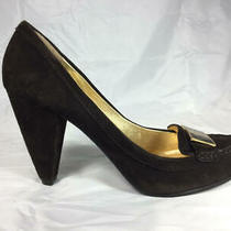 Cute Used Coach Kandace High Heel Chocolate Suede Pumps  Women's Size 8 B Photo