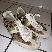 Cute Womens Coach - Sneakers - Shoe Size Us 9 B Photo