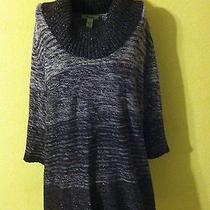 Cute Womens Macys style&co Tunic Sweater Size 1x Look Photo