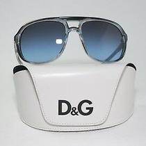 d&g Designer Polycarbonate Sunglasses Grey Blue Lenses Dd8076 1692/8f Photo