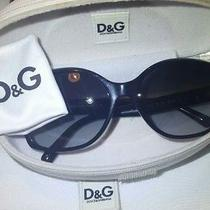 d&g Dolce & Gabbana 0dg4168 501/8g Black Square Sunglasses With Roses 58mm Photo