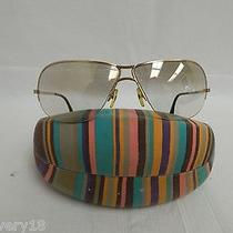 d&g Dolce & Gabbana 2100 D43 Gold Metal Aviator Sunglasses W/missoni Case Photo