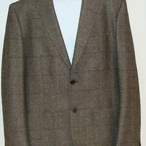 d&g Dolce & Gabbana Beige Green Wool Blend Tweed Jacket  Blazer Mens 54eu / 44uk Photo