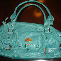 D & G Hobo Purse Deep Aqua Blue Purse Dolce & Gabbana Photo