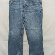 D7478 American Rag High Grade Straight Smith Fit Jeans Men's 33x29 Photo