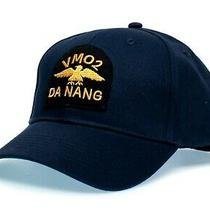 Da Nang Hat Magnum Pi Tom Selleck Embroidered Patch Cap Cosplay Navy Photo