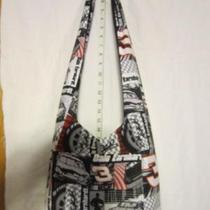 Dale Earnhardt 3 Fabric Nascar Tie Hobo Purse M64 Photo