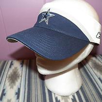 Dallas Cowboys Reebok on Field One Size Sun Visor Golf Cap Hat Women's Men's Photo
