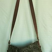 Damaged Stained & Frayed Fossil Crossbody Shoulder Strap Book Bag Photo