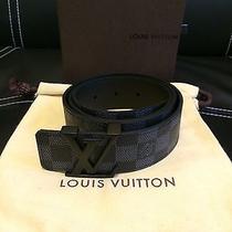 Damier Graphite Louis Vuitton Belt Sz 32-34 Photo