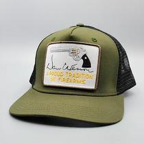 Dan Wesson Vintage Trucker Hat Embroidered Gun Patch Mesh Snapback Baseball Cap Photo