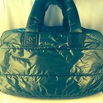 Dark Gray Authentic Coco Cocoon Chanel Handbag Photo