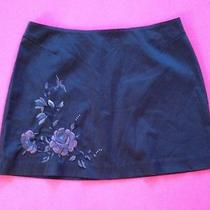 Dark Grey Express Stetch Size 9/10 Women's Mini Skirt Photo