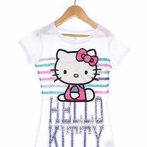 Darling Hello Kitty White T-Shirt Girls Size S (Ref a-1572110363) Photo