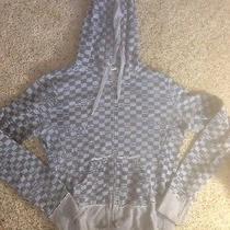 Darling Roxy Grey Hoodie Girls Size L  Ked Photo