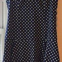 Darling Sleeveless Polka-Dot Sara Campbell Dress Sz. 4 Photo
