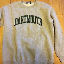 Dartmouth College Vintage Sweatshirt Green Lettering Jansport L Made in Usa Photo
