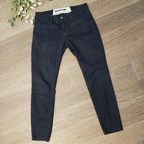 Daughters of the Liberation Anthropologie Black Skinny Jeans Size 6 Photo