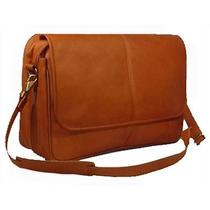 David King & Co 194t Expandable Messenger Bag Tan Photo