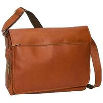 David King & Co. Laptop Messenger Bag - Tan  146t Photo
