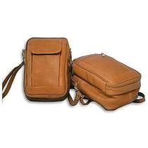 David King & Co. Man Bag With Organizer - Tan  459t Photo
