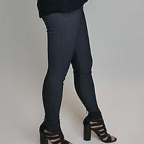 David Lerner Denim Basic Legging Leggings Black Nylon/spandex M Photo