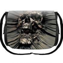 David Penfound Skull Breakthrough Gothic Fantasy Gym Uni School Messenger Bag Photo